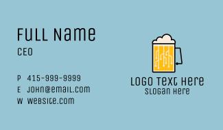 Beer Circuit Business Card