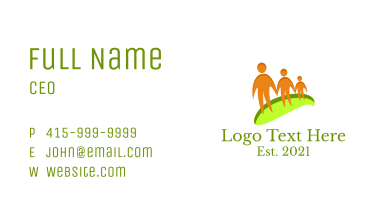 Family Insurance Business Card