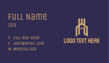 Premium Home Property Business Card