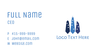 Office Building Business Card