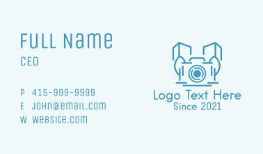 City Building Camera Business Card