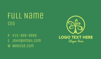 Tree Circle Business Card