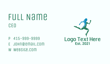 Chiropractic Human Body Business Card