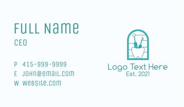 Dental Equipment  Business Card