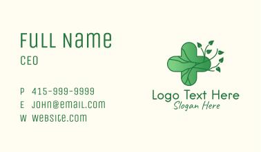 Herbal Medicinal Cross  Business Card