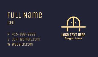 Golden Bridge Furniture Business Card