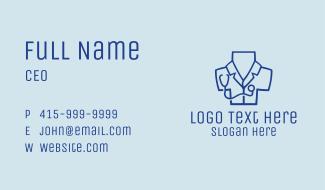 Doctor Coat Cross  Business Card