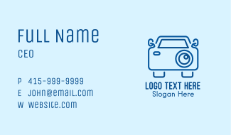 Car Camera Business Card
