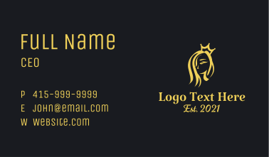 Golden Crown Spa  Business Card
