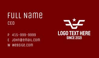White Star Bull Business Card