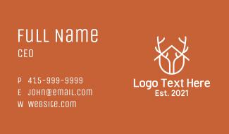 Home Antler Design Business Card