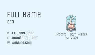 Arabic Palace Landmark  Business Card