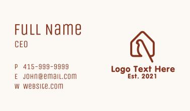 Red Bird House Business Card