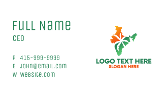 Tropical India Business Card