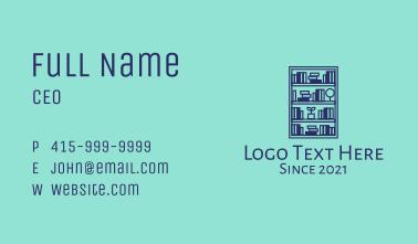 Book Shelf Furniture  Business Card