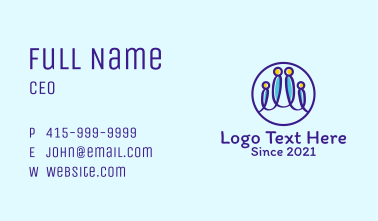Family Care Clinic  Business Card