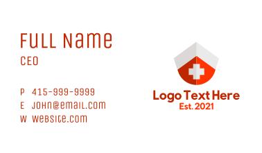 Nurse Cap First Aid Kit Business Card