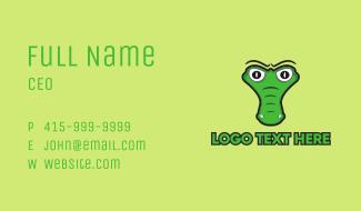 Crocodile Head Business Card