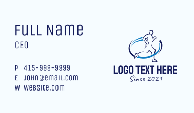 Blue Sports Physiotherapy  Business Card