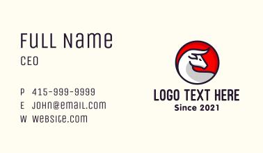 Asian Ox Business Card
