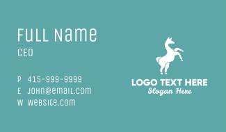 Wild Llama Business Card