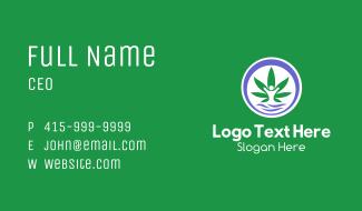 Weed Human Dispensary Business Card