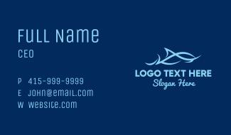 Marine Ocean Fish Business Card