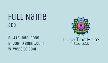 Kaleidoscope Ornament  Business Card