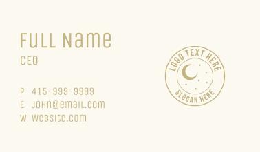 Astrological Emblem Business Card