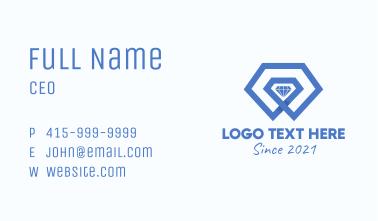 Luxury 3D Diamond Business Card