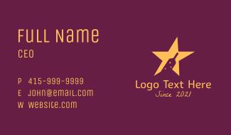 Star Wine Bar  Business Card