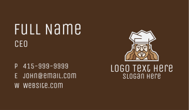 Hipster Chef Business Card