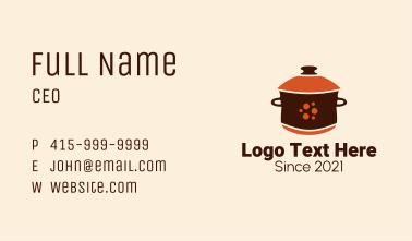 Casserole Cooking Pot  Business Card