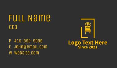 Golden Chair Wifi  Business Card