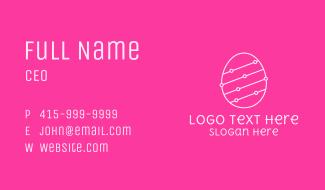 Pink Egg Tech Network Business Card