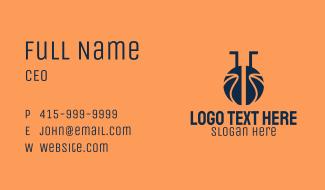 Basketball Sports Lab  Business Card