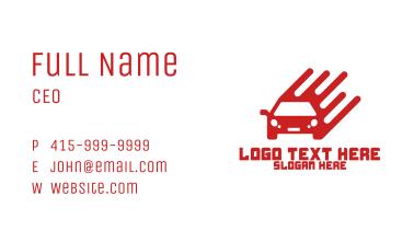 Modern Car Company Business Card