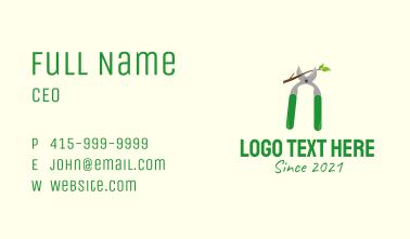 Cutter Garden Tool Business Card
