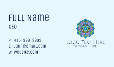 Intricate Home Decor  Business Card