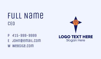 Basketball Star Business Card