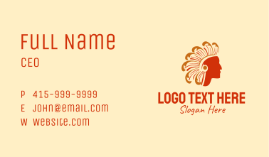 Tribe Chief Business Card