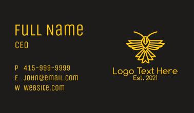 Golden Bee Logistics  Business Card