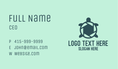Shutter Turtle Business Card