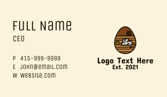 Mouse Egg  Business Card