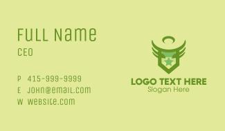 Army Star Emblem  Business Card