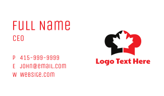 Canadian Chef Business Card