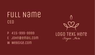 Elegant Pageant Crown  Business Card