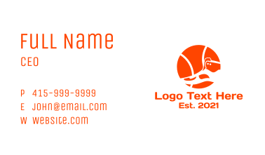 Basketball Shoes Business Card