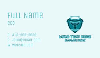Bird Halo Emblem Business Card