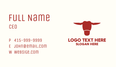 Red Bull Knife Business Card